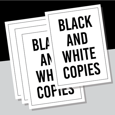 Black and White Copies